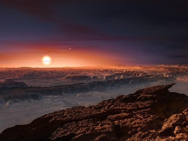 Cientistas descobrem planeta parecido com Terra que orbita vizinha do Sol  (Foto: ESO/M. Kornmesser)