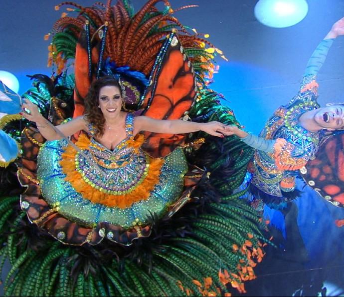 Império de Casa Verde na gravação da vinheta de Carnaval 2016 (Foto: Divulgação TV Globo)
