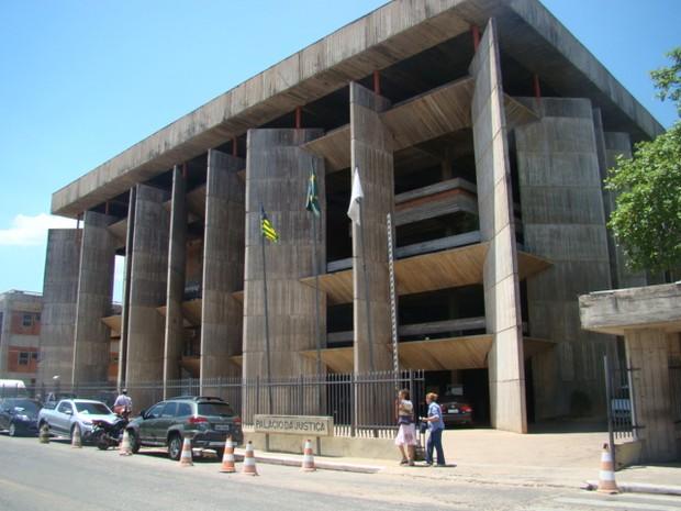 Tribunal de Justiça do Piauí (Foto: Catarina Costa/G1 PI)