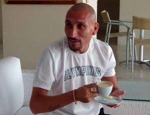 Guiñazu, volante do Inter (Foto: Rafael Antoniutti/ Trato.TXT)
