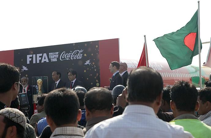 tour da Taça em Bangladesh (Foto: Pedro Veríssimo)