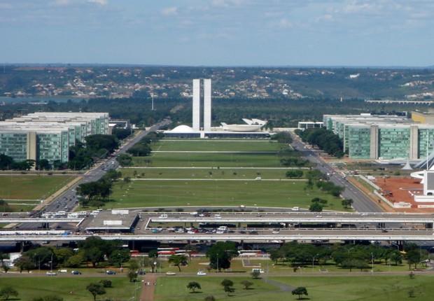 Esplanada dos Ministérios (Foto: Wikipedia)