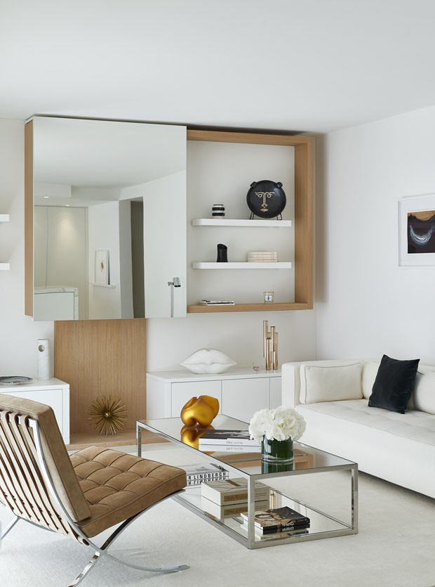 Apartamento minimalista no glamour de cannes casa vogue for Casa minimalista harborview hills