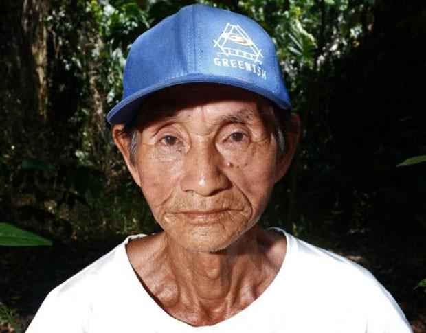 Nakayama chegou a Airão Velho em 2001. (Foto: Lucas Amorelli/BBC)