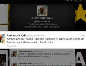 kalil twitter atletico-mg (Foto: Reprodução)