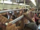 Um dia após caos, RJTV acompanha sofrimento dos passageiros de trens