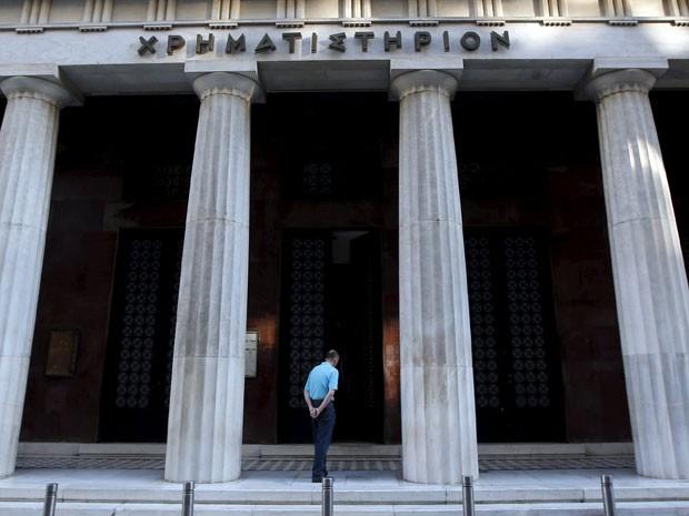 Bolsa de Atenas seguirá fechada até quarta-feira (8) (Foto: Reuters)