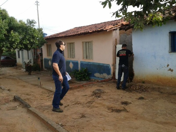 Polícia Civil de Salinas realiza operação contra o tráfico de drogas. (Foto: Michelly Oda/ G1)