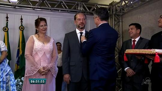 Ivo Gomes toma posse em Sobral e destaca saúde e segurança