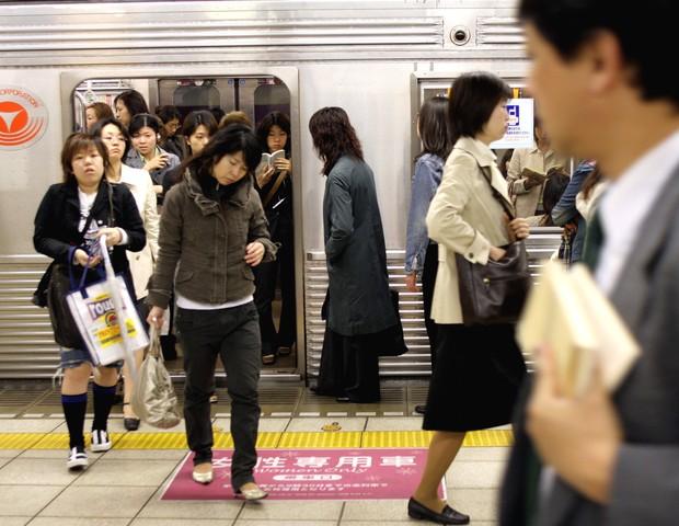 Estação de trem no Japão  (Foto: getty images)
