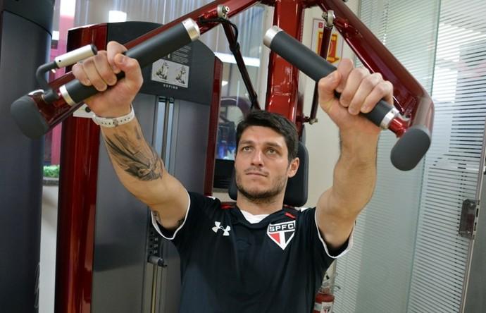 Denis São Paulo (Foto: Site oficial do SPFC)