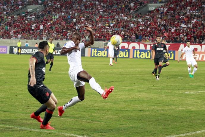 Santos x Flamengo (Foto: Futura Press)