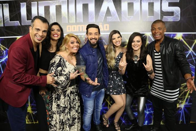 Participantes da sétima rodada do 'Iluminados' (Foto: Carol Caminha/Gshow)