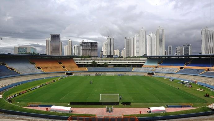 Serra Dourada: estádio completa 40 anos (Foto: Guilherme Gonçalves/GloboEsporte.com)