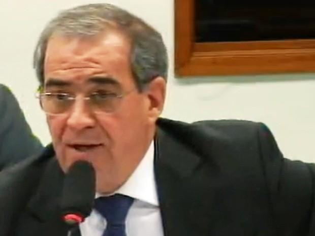 Diretor presidente da Usiminas depôs na CPI do BNDES (Foto: Reprodução/TV Câmara)