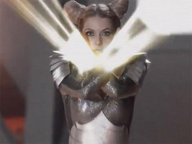 Princesa Shelda faz o Cabunga! (Foto: Parker TV)