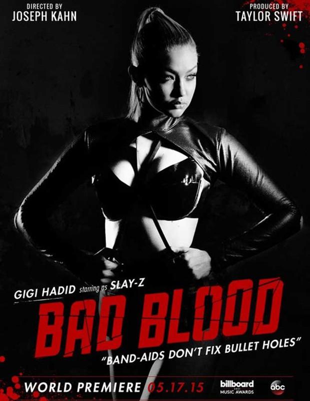 Gigi Hadid é Slay-Z (Foto: Divulgação)