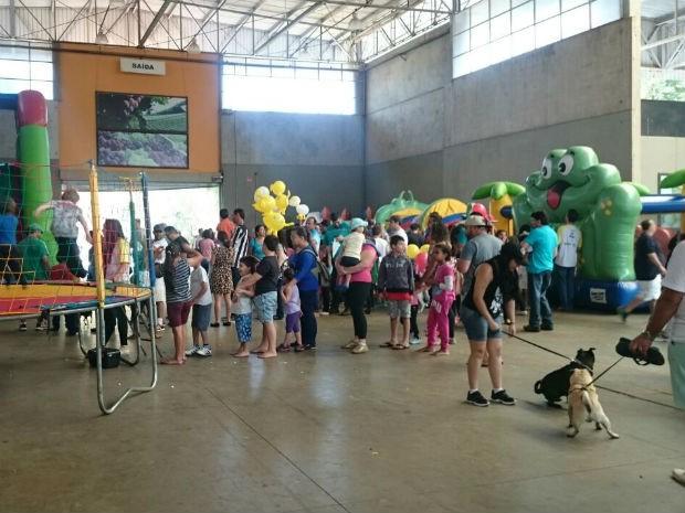 Público superou as expectativas da organização em mais um edição do evento  (Foto: Ana Paula Yabiku/G1)