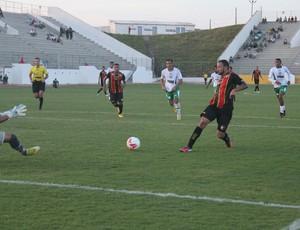 Marcel - atacante do Globo FC (Foto: Kaline Rodrigues/Globo FC)