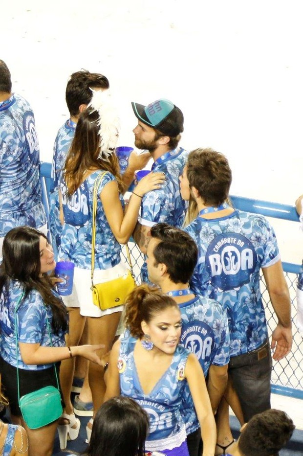 Thayla Ayala e Andre Hamann (Foto: Felipe Assumpcao / AgNews)