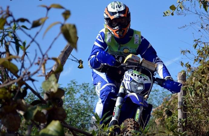 Wesley Macedo motociclista (Foto: Janjão Santiago)