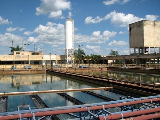 Estação de Tratamento de Água (ETA) Capim Fino, em Piracicaba (Foto: Justino Lucente/Prefeitura de Piracicaba)