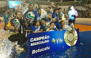 Nos pênaltis, Botucatu bate Bauru e é bi da Copa TV TEM de Futsal