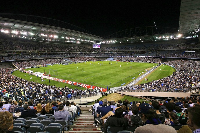 Etihad Stadium de Melbourne, na Austrália (Foto: Michael Dodge / Getty Images)