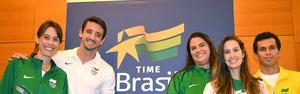 Ex-atletas engrossam time do Comitê Olímpico Brasileiro (Alexandre Castello Branco / COB)