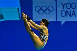 Ingrid saltos ornamentais (Foto: Divulgação)