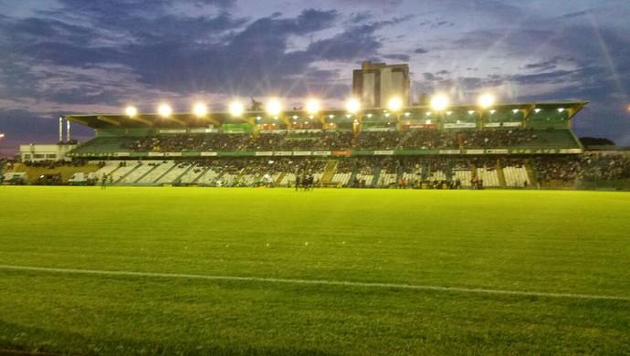 Estádio Colosso da Lagoa (Foto: Régis Melo)