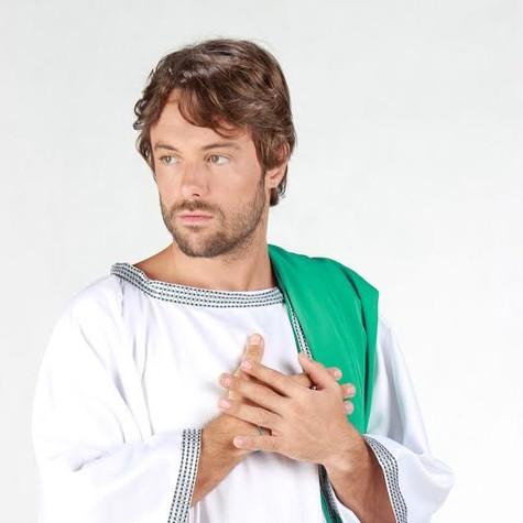 Kayky Brito como Jesus (Foto: Cris Santos)