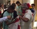 Orgulho Inca: Guerrero e Trauco unem peruanos para torcer pela vitória do Fla