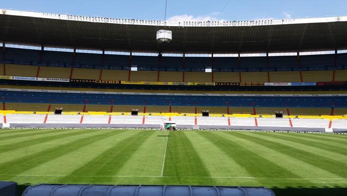 Estádio Jalisco, no México, palco da partida entre Atlas e Atlético-MG (Foto: Fernando Martins Y Miguel)