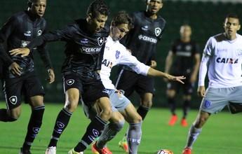 Com fome de títulos, Botafogo sub-20 passa pelo Figueira na Copa do Brasil