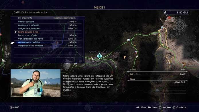 Abuse de missões especiais em Final Fantasy XV (Foto: Reprodução/Murilo Molina)
