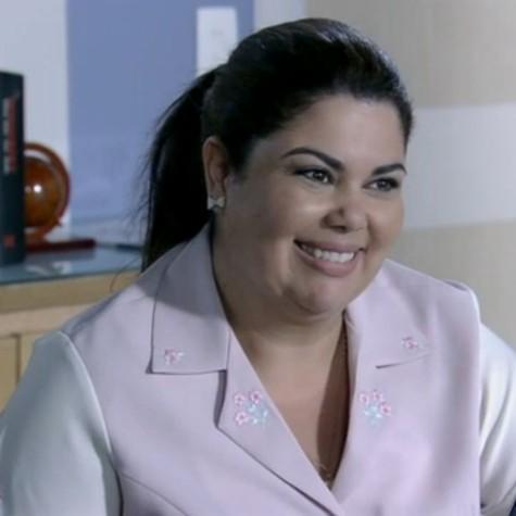 Fabiana Karla em cena como Perséfone (Foto: Reprodução)
