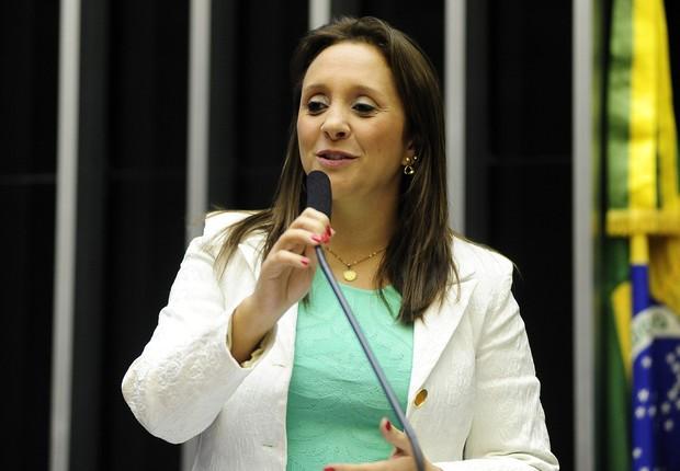 Renata Abreu, líder do PTN (Foto: Agência Câmara)