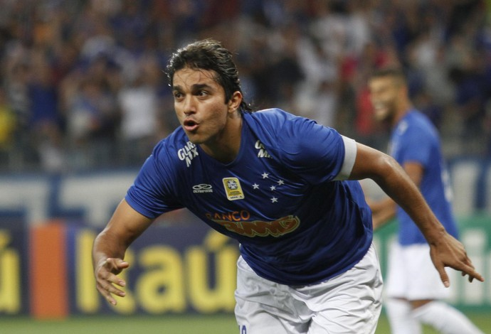 Marcelo Moreno, atacante do Cruzeiro (Foto: Gualter Naves/Light Press)