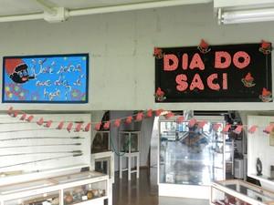 Atividades em alusão ao Dia do Saci ocorrem nesta quinta-feira (29) (Foto: Wellington Roberto/G1)