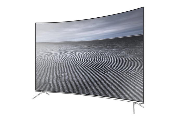 A Samsung KS7500 Série 7 é um bom exemplo de TV top de linha que pode ser usado por gamers (Foto: Divulgação/Sony)