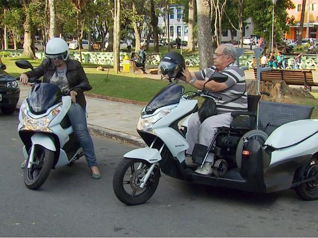Investimento de R$ 17 mil permitiu motocicleta (Foto: Reprodução/EPTV)