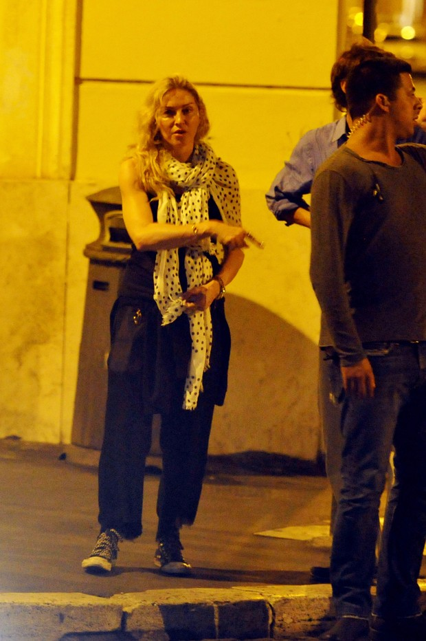 Madonna (Foto: AKM-GSI BRASil / Splash News)