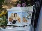 Caixão de Peaches Geldof tem desenhos de sua família