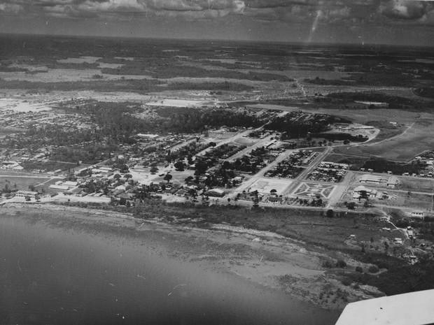 Macapá foi transformada em vila em 4 de fevereiro de 1758 com apenas 500 habitantes (Foto: Arquivo/IBGE)