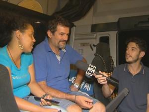PREP_ O casal Edson e Eugênia vive na estrada, literalmente (Foto: TV Globo)