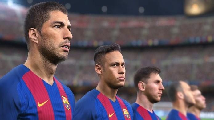Pro Evolution Soccer 2017 Trial Edition traz nove times e dois estádios (Foto: Divulgação/Konami)
