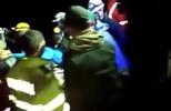 Imagens do resgate do zagueiro Neto, da Chapecoense