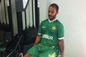 Felipe Alves é a principal novidade no Dourado (Foto: Pedro Lima/ Cuiabá Esporte Clube)