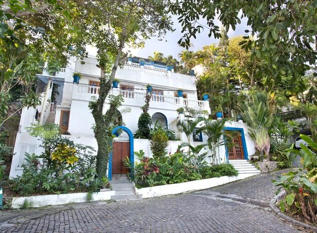 Casa onde morou Elis Regina no Rio de Janeiro Avenida Niemeyer Praia São Conrado (Foto: Nelson Kon/Divulgação)